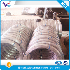 High tensile Hot dip Galvanized Oval wire for cattle fence